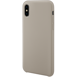 Soft gel silicone case for Apple iPhone X/XS, Pebble Grey