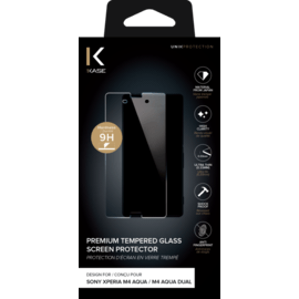 Premium Tempered Glass Screen Protector for Sony Xperia M4 Aqua/ M4 Aqua Dual, Transparent