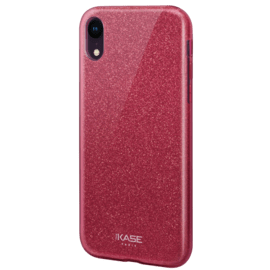 Sparkly Glitter Slim Case for Apple iPhone XR, Red