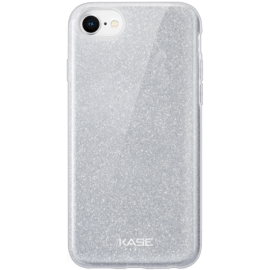 Sparkly Glitter Slim Case for Apple iPhone 6/6s/7/8, Silver