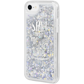 Coque Bling Bling hybride pailletée pour Apple iPhone 6/6s/7/8, Your Best Morning