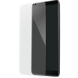 Full Coverage Tempered Glass Screen Protector for Huawei Y9 (2018), Transparent