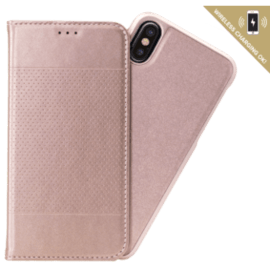2-in-1 GEN 2.0 Magnetic Slim Wallet & Case for Apple iPhone X/XS, Rose Gold