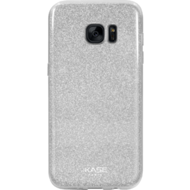 Case Sparkly Glitter Slim Case for Samsung Galaxy S7 Edge, Silver