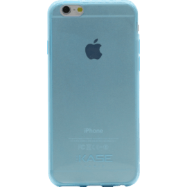Case Invisible Ultra Slim Silicone Case for Apple iPhone 6/6s 0.6mm, Blue Transparent