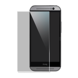 Premium Tempered Glass Screen Protector for HTC One M8, Transparent
