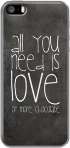 Case All you Need is more Chocolate by Monika Strigel