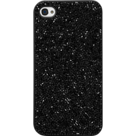 Coque Bling Strass pour Apple iPhone 4/4s, Minuit Noir