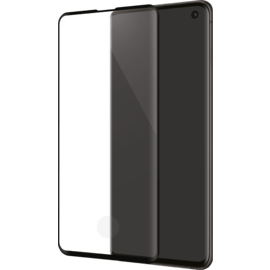 Gen 2.0 Curved Edge-to-Edge Tempered Glass Screen Protector for Samsung Galaxy S10, Black