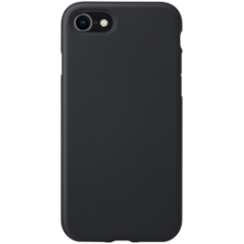 Anti-Shock Soft Gel Silicone Case for Apple iPhone 7/8, Satin Black