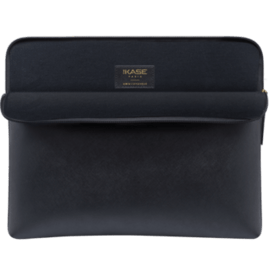 Saffiano Genuine Leather Sleeve for 13-inch MacBook Pro, MacBook Air & MacBook Pro Retina, Midnight Black