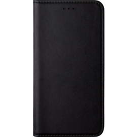 Folio Flip case with card slot & stand for Nokia 6 (2017), Black