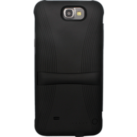 Case Power flip case 2400mAh for Samsung Galaxy Note 2, Black