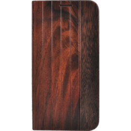 Case Flip case for Samsung Galaxy S6 Edge, Natural Bois de Rosewood
