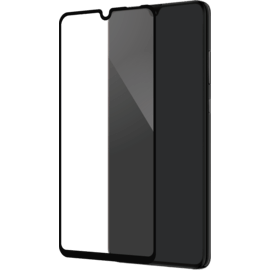 Full Coverage Tempered Glass Screen Protector for Huawei P30 Lite, Black