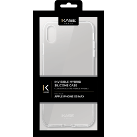 Invisible Hybrid Case for Apple iPhone XS Max, Transparent