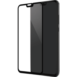 Full Coverage Tempered Glass Screen Protector for Huawei Honor 8X, Black