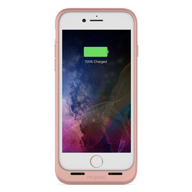 Coque batterie magnetique iPhone 7  Plus Rose Gold -  .JUICE PACK AIR