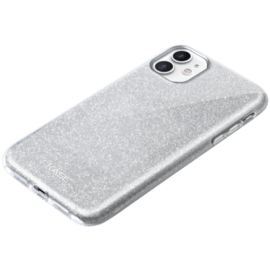 Sparkly Glitter Slim Case for Apple iPhone 11, Silver