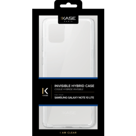 Invisible Hybrid Case for Samsung Galaxy Note10 Lite, Transparent