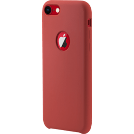 Soft Gel Silicone Case for Apple iPhone 7/8, Fiery Red