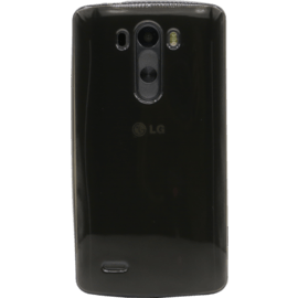 Case Silicone Case for LG G3, Transparent Grey