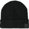 Rib-Knit Headphone Beanie, Black