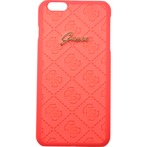 Case Guess Scarlett Coque pour Apple iPhone 6 Plus/6s Plus, Rouge