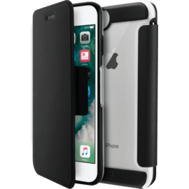 Air Coque de protection avec clapet folio pour Apple iPhone 6/6s/7/8, Noir