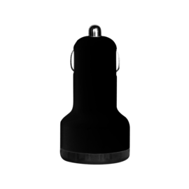 Case Car charger duo USB port, Black