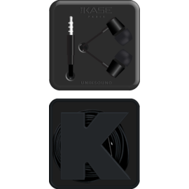 K In-ear Headphones, Jet Black