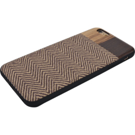 Case for Apple iPhone 6 Plus/6s Plus, Tribal Zebra motif, Bois de Rosewood