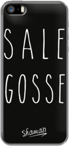 Case Coque ' Sale Gosse ' by Le Fabuleux Shaman