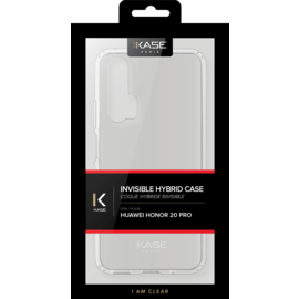 Coque hybride invisible pour Huawei 20 Pro, Transparent