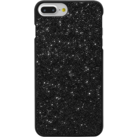 Case Étui en strass Bling pour Apple iPhone 6 Plus / 6s Plus / 7 Plus / 8 Plus, Midnight Black