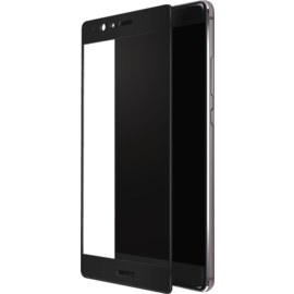 Full Coverage Tempered Glass Screen Protector for Huawei P9 Plus, Black