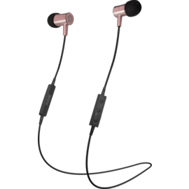 Case Magnetic Noise-isolating Wireless In-ear Headphone, Rose Gold