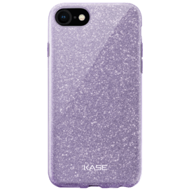 Sparkly Glitter Slim Case for Apple iPhone 6/6s/7/8/SE 2020, Purple