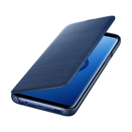 LED View cover Blue Galaxy S9+
