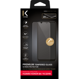 Premium Tempered Glass Screen Protector for Huawei Honor 8A/ Y6 2019, Transparent