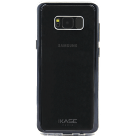 Case Invisible Hybrid Silicone Case for Samsung Galaxy S8+, Transparent