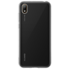 Coque hybride invisible pour Huawei Y5 2019, Transparent
