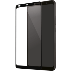 Full Coverage Tempered Glass Screen Protector for Nokia 9 PureView, black