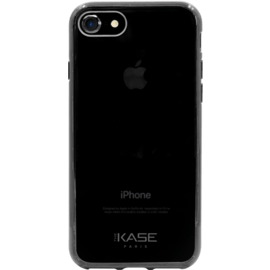 Case Invisible Hybrid Silicone Case for Apple iPhone 7/8, Black
