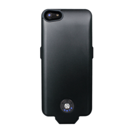 Case Coque batterie slim 2400mAh pour Apple iPhone 5/5s/SE, Noir