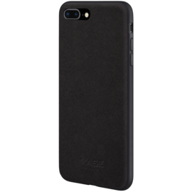 Alcantara Suede Case for Apple iPhone 7/8 Plus, Midnight Black