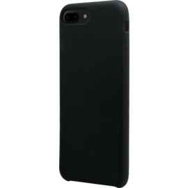 (Special Edition) Soft gel silicone case for Apple iPhone 7/8 Plus, Satin Black