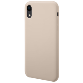 Soft Gel Silicone Case for Apple iPhone XR, Sandy Pink