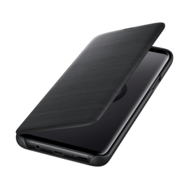 LED View cover Noir Galaxy S9+