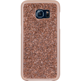 Case Rhinestone Bling case for Samsung Galaxy S7 Edge, Rose Gold
